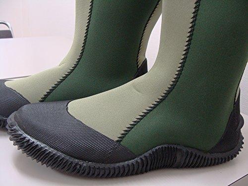 Samurai Marknadsgreenvattentäta Höga Stövlar (för Trädgårdsarbete) Grön