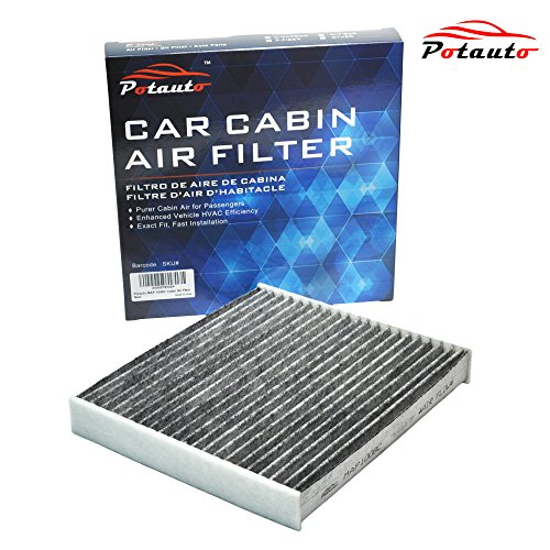 POTAUTO MAP 3005C Heavy Active Carbon Car Cabin Air Filter Replacement compatible with AUDI A4 A6 Allroad RS6 RS4