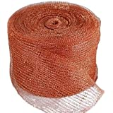 Copper Mesh Stuf-Fit 100ft For Mouse Rat Rodent Control, 100% Copper