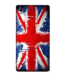 ColorKing Football England 10 Multi Color shell case cover for Sony Xperia Z1