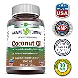 Amazing-Nutrition-Amazing-Formulas-Extra-Virgin-Coconut-Oil-Dietary-Supplement-1000mg-180-Softgels-Weight-Management-Immune-System-Support-Promotes-Heart-Health