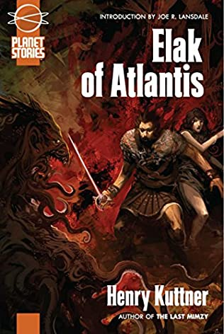 book cover of Elak of Atlantis