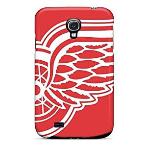 [cZqtjtW7967mXDSg]premium Phone Case For Galaxy S4/ Detroit Red Wings Tpu Case Cover