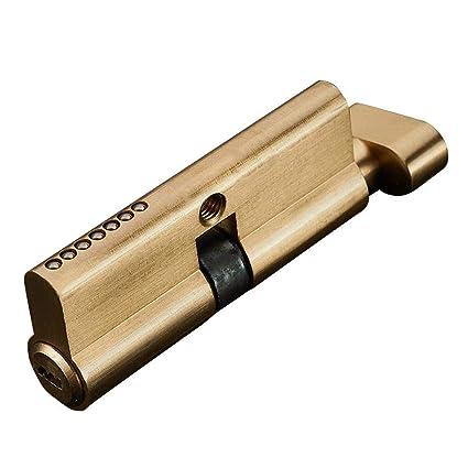 Amazon.com : Merryode Door Lock Pure Copper Door Lock Cylinder ... on