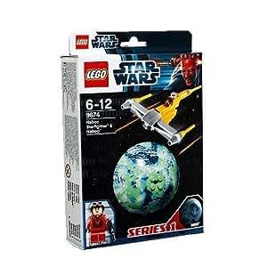 LEGO Star Wars 9674 - Naboo Starfighter y Naboo