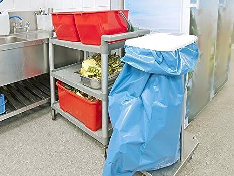 Deiss Premium 90099/Drawstring Bags 720/mm x 1050/mm x 0.05/mm 25/per roll blue