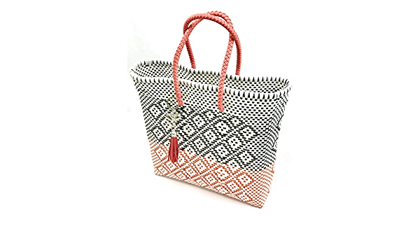 Straw Bag Girls Handmade Artisanal bag Beach Bag Woven bag Girls Mexican tote bag