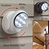 Tooltime® Rotating Superbright 7 LED Motion Activated Cordless Light