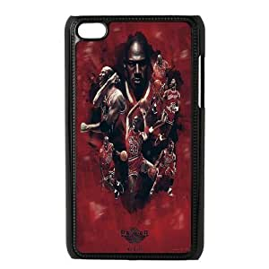 Custom High Quality WUCHAOGUI Phone case Super Star Michael Jordan Protective Case FOR IPod Touch 4th - Case-9