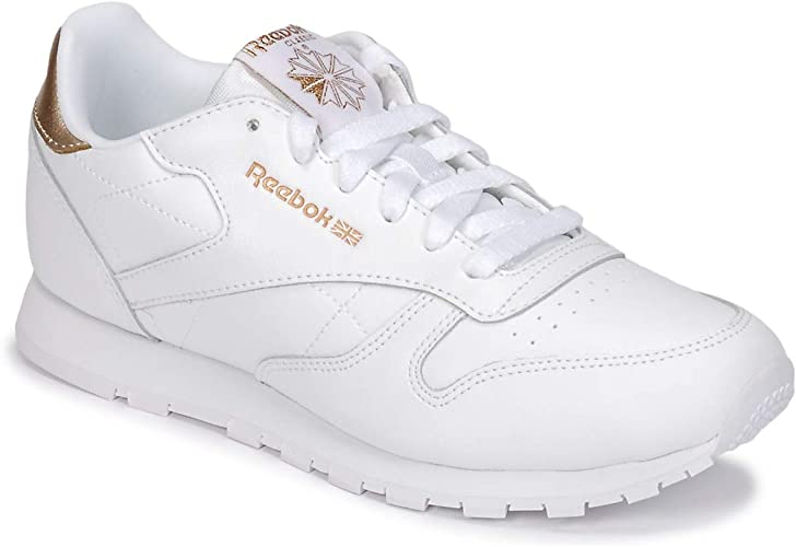 Reebok Classic Classic Leather J Sneaker Madchen WeissGold