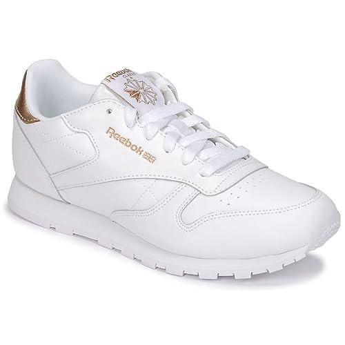 Zapatilla REEBOK Classic Leather para NiãO/A: Amazon.es: Zapatos y complementos