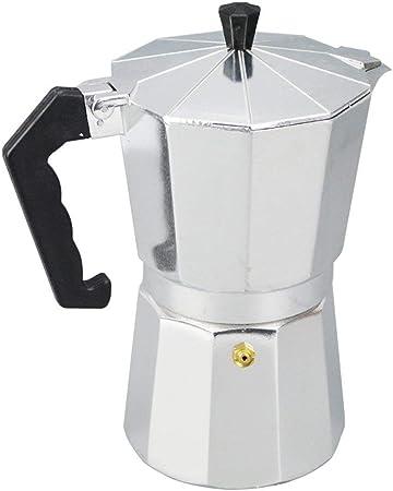 BeiMi Máquina de café espresso, cafetera, moca maceta: la máquina para hacer café clásica está hecha de acero inoxidable 430, adecuada para 1/3/6/9/12 tazas, adecuada para la cocina de inducción (máqu: Amazon.es: