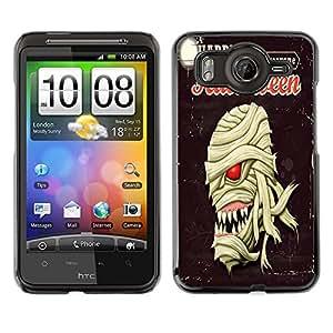 Dragon Case - FOR HTC G10 - Happy Hallowen party - Caja protectora de pl??stico duro de la cubierta Dise?¡Ào Slim Fit