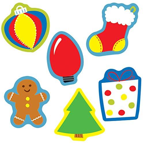Carson Dellosa 120181 Holiday Mix Mini Cut-Outs