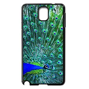 HOPPYS Customized Print Peacock Hard Skin Case Compatible For Samsung Galaxy Note 3 N9000