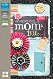 NIV, Homeschool Mom's Bible, Compact, Imitation Leather, Blue: Daily Personal Encouragement