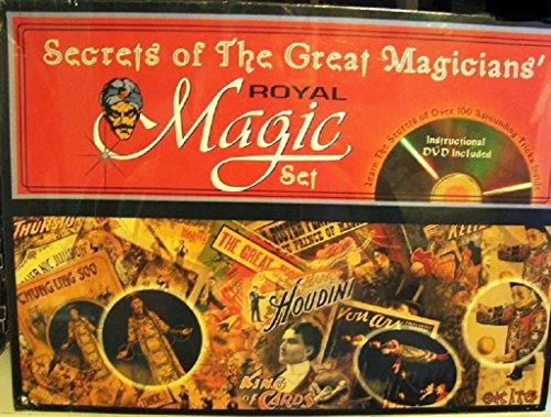Great Magicians Set (Secrets of the Great Magicians Set - Royal Magic Kit)