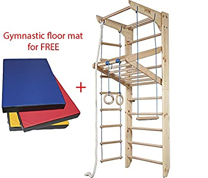 Superb Dani Home Gym Wooden Wall Bars Certified Sport Equipment! Indoor Gymnastic  Ladder Climbing Bar Wood