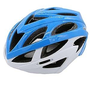 Casco Adulto Casco De Bicicleta De Carretera De Montaña Surf Esquí Cabeza Ligero,Blue