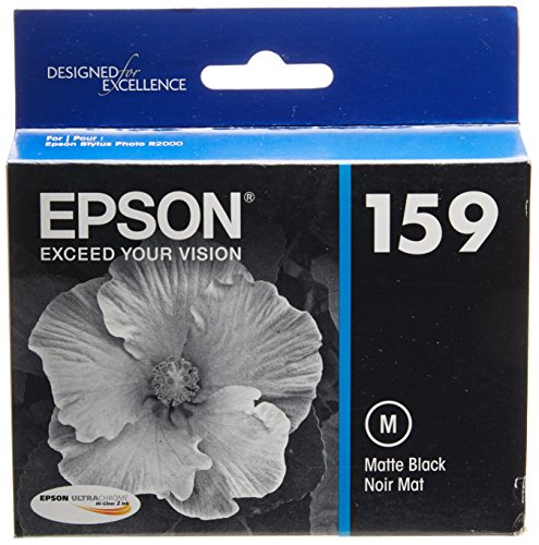 Epson T159820 UltraChrome Hi-Gloss 2 Matte Black Cartridge ()