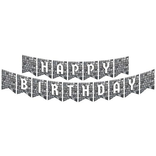 Cobblestone - Banners articulados, suministros de fiesta ...