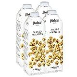 Elmhurst 4pk Milked Walnuts 32 oz. Creamy & Delicious Walnut Milk. More Nuts! More Nutrition! Gluten Free, Lactose Free, Vegan Beverage.