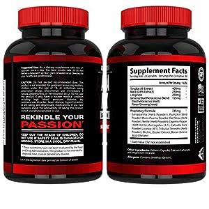 AlphaMAXX Male Enhancement Supplement - Ginseng, Muira Puama, Tribulus - 60 Herbal Pill - Arazo Nutrition Enhancement Pills - 51YKpga416L - Enhancement Pills