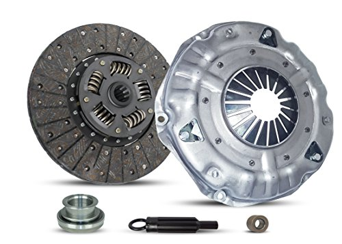 Clutch Kit Works With Gmc Chevrolet Sierra Silverado Suburban Base Step-Van Value Van Cheyenne Silverado Scottsdale Sierra Chevy Van Beauville 1989-1985 4.8L l6 5.0L V8 GAS OHV Naturally Aspirated