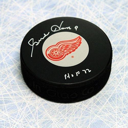 Gordie Howe Autographed Puck - Gordie Howe Autographed Puck - Autographed NHL Pucks
