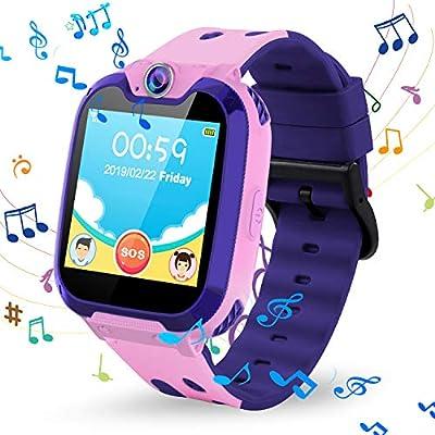 Vannico Smartwatch Niños, Relojes Inteligentes La Musica ...