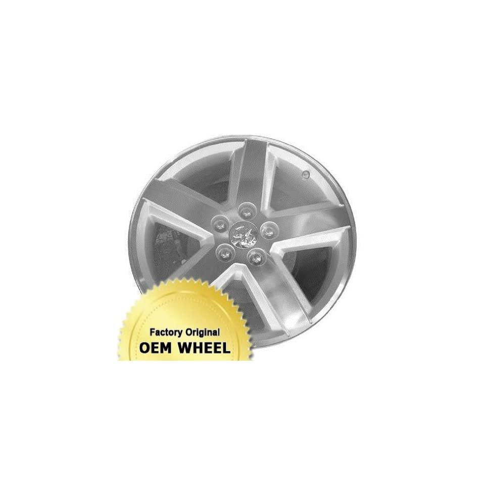 DODGE AVENGER 18X7.5 5 SPOKE Factory Oem Wheel Rim  HYPER SILVER   Remanufactured Automotive