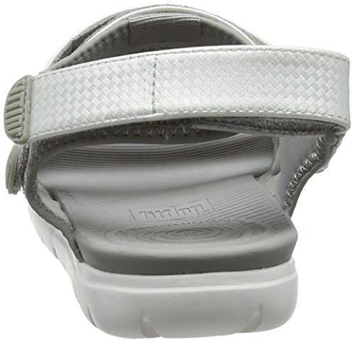 Sandals soft Back 579 silver Bout Grey strap Ouvert Multicolore Femme Neoflex Fitflop t8fqaa