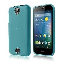 Cbus Wireless Flex-Gel TPU Case for Acer Liquid Z330 / Z320 - Transparent Blue