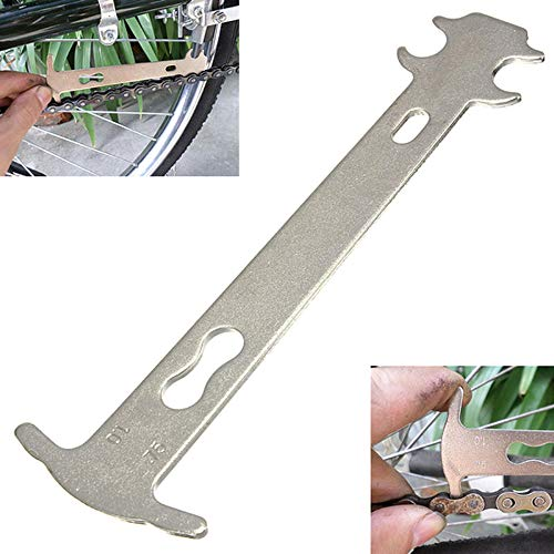 Portable Steel Bicycle Chain Wear Indicator Tester Chain Repair Tools Bicycle