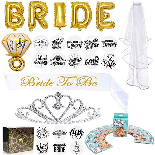 Bachelorette Party Decorations Kit Bridal Shower Supplies and Favors: