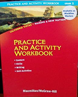 Making a new nation james a et al banks 9780021505135 amazon practice and activity workbook grade 5 california vistas making a new nation fandeluxe Images