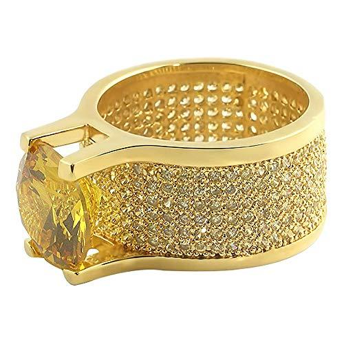Custom Lemonade 360 Bling Bling Ring 20ct Solitaire (7) (20 Carat Diamond Ring)