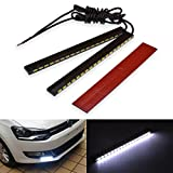 KaTur White High Power 5730 18-SMD COB LED Waterproof DRL Driving Daytime Running Light Lamp 29W