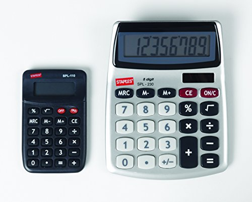 Staples-8-Digit-Display-Calculator-Value-Pack