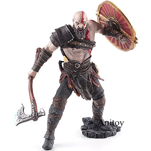 Chains Of Olympus Costumes - Kratos PVC Action Figure Collectible Model