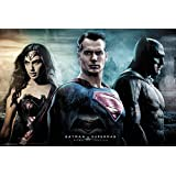Batman vs. Superman- City Poster 36 x 24in