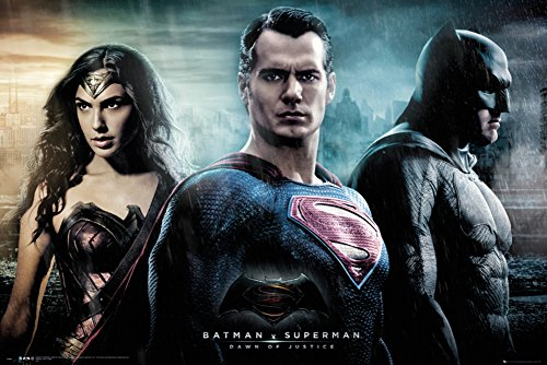 Batman vs. Superman- City Poster 36