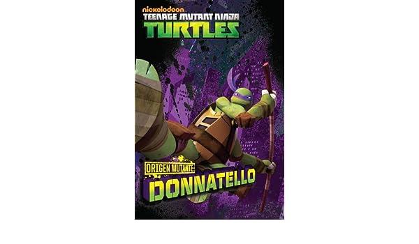 Amazon.com: TORTUGAS NINJA: ORIGEN MUTANTE: DONATELLO ...