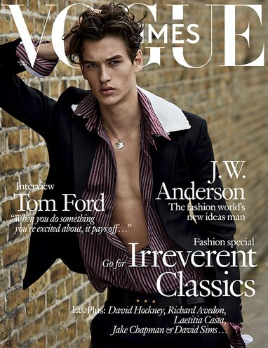 Vogue Hommes Magazine (Fall/Winter - Homme Tom Ford