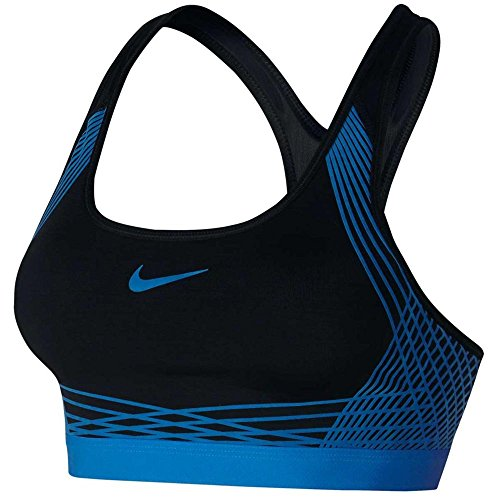 Nike Pro Hyper Classic Padded Womens Sports Bra Size L