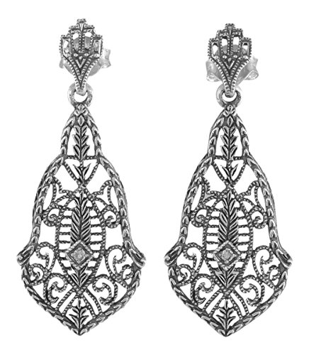 Antique Style Sterling Silver