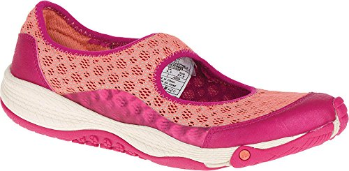 Merrell Leather Mary Janes - Merrell All Out Bold II Athletic Mary Jane Shoes - Slip-Ons (Size: 7)