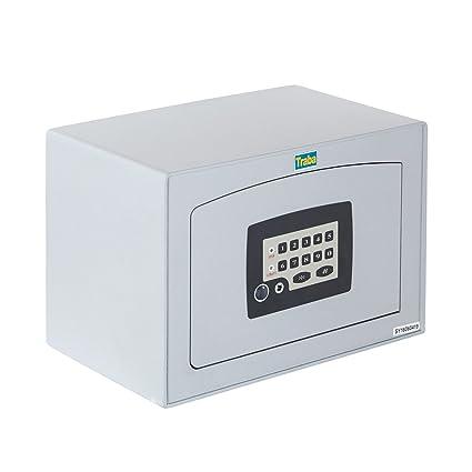 Traba 38012 Caja Fuerte de Sobreponer Gris 16 l
