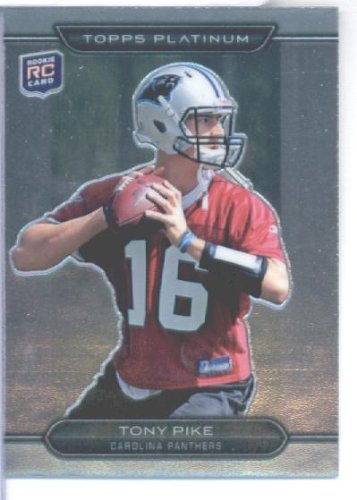 Topps 2010 Platinum Ballon de foot Card#11 Tony Pike Rookie Carolina Panthers