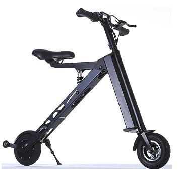 Amazon.com: Bicicleta eléctrica portátil de tres ruedas WFTD ...
